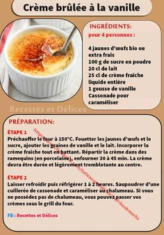 Discover recipes, home ideas, style inspiration and other ideas to try. Light Desserts, Easy Desserts, Delicious Desserts, Dessert Recipes, Creme Dessert, Sweet Bakery, Food Decoration, Pastry Recipes, Sweet And Salty