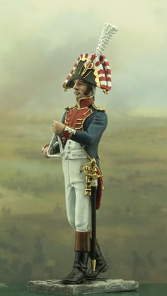 The 1st Grenadier regiment. Old Guard. The Triangle player of orchestra. Year 1810