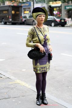 Cannot stop reading advanced style blog.  Cannot wait to be a fashionable old lady that DOES NOT GIVE A CRAP WHAT PEOPLE THINK ABOUT HOW I DRESS. #oldladyambition