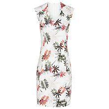 Buy Reiss Selena Printed Dress, White/Multi Online at johnlewis.com