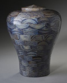 Oceanic Blue Wood Cremation Urn Oceanic Blue Wood Cremation Urn Memorial Urns The post Oceanic Blue Wood Cremation Urn appeared first on Wood Ideas. Funeral Urns, Memorial Urns, Turn Blue, Pet Urns, Vase Shapes, Blue Wood, Cremation Urns, World's Most Beautiful, Wood Turning