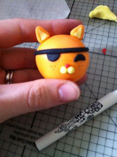 Tutorial on how to make Kwazii of the Octonauts.