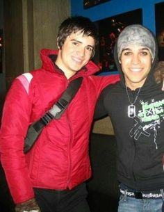Brendon Urie and Pete Wentz