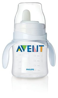 Philips Avent BPA Free Classic Bottle to First Cup Trainer, 4+ Months, Clear Philips Avent,http://www.amazon.com/dp/B003ZUXBBC/ref=cm_sw_r_pi_dp_64Xmtb16EAAGQ8J8
