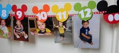 Mickey Mouse Clubhouse Birthday Party by sweetheartpartyshop by Sofia.Art