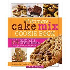 The Ultimate Cake Mix Cookie Book #cookbook