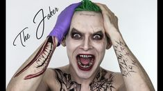 So many of you requested the makeup of Jared Leto The Joker from Suicide Squad. I know there are already a ton of tutorials on it, but I wanted to do my vers...