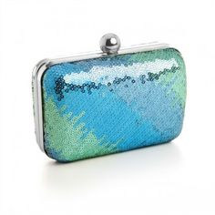 Love this bling!!  Mariell Mini Sequin Ombre Minaudiere