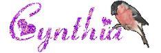 Cynthia name graphics