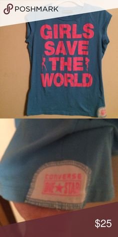Converse top medium Converse top medium Converse Shirts & Tops Tees - Short Sleeve