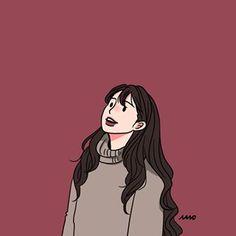 Later in her life, she met Kurt again. Cute Couple Drawings, Cute Couple Art, Cute Drawings, Cute Art Styles, Cartoon Art Styles, Aesthetic Art, Aesthetic Anime, Arte Indie, Arte Sketchbook