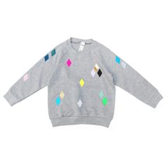 Sweater Diamond grey / pom berlin
