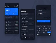 Digital wallet 01 designed by Bobbi. Connect with them on Dribbble; Ios App Design, Android Design, Web Design, Mobile Ui Design, User Interface Design, Flat Design, Dark Apps, Design Thinking, Motion Design