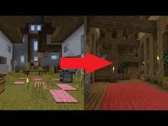 Here is the direct sequel to 5 steps to improve your minecraft house, the much called for video! These steps aren't quite as clear cut as the others, but I s. Cool Minecraft Houses, Minecraft Designs, Minecraft Buildings, Decorating Your Home, Interior Decorating, Waterfall House, Minecraft Architecture, Home Interior Design, Interior Ideas
