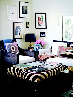 originally C magazine Jacqui Getty home
