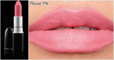Please Me | MAC Lipstick | Batom Rosé Quartz