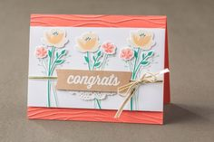 Leaders in decorative stamps, handmade greeting cards, and papercrafting since We have been inspiring people to discover and share their creativity. Card Making Inspiration, Making Ideas, Stampin Up Catalog, Love Stamps, Pots, Stamping Up Cards, Congratulations Card, Love Cards, Creative Cards