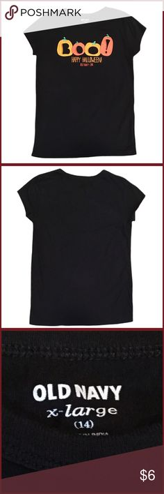 Old Navy Size 14 Halloween Short Sleeve Shirt ◾️Gently used Old Navy size x-large (14) short Sleeve Halloween Shirt Old Navy Shirts & Tops Tees - Short Sleeve