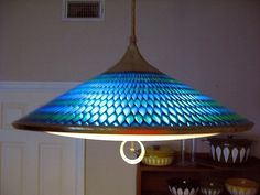 This light was in my dining room when I bought my house and I sold it for a song.  Wish I had it back now!