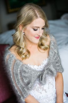 "This lovely wrap is knit holding two or more yarns together. Lace interest is created when dropping one of the threads. Knit ""First Look"" dressy or in a more casual yarn. Knitting Designs, Knitting Patterns, Lace, Casual, Tops, Women, Fashion, Knitting Projects, Moda"
