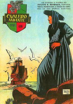 BDBD - Blogue De Banda Desenhada: BD E HISTÓRIA DE PORTUGAL (7) - O INFANTE D. HENRIQUE