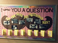 I mustache you a question...can you name the mustached men? RA Bulletin Board
