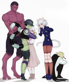 Hunter X Hunter - Menthuthuyoupi Meruem Komugi Neferpitou Shaiapouf Killua, Alluka Zoldyck, Hisoka, Hunter King, Hunter X Hunter Komugi, Fanarts Anime, Manga Anime, Anime Art, Awesome Anime