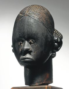 Fang-Betsi Reliquary Head, Gabon Height: 9 1/8 in (23.2 cm) Joseph Brummer, Paris With Robert J. Coady, Washington Square Gallery, New York, 1914-1917
