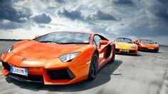 Awesome Supercar Lineup via topgear.com