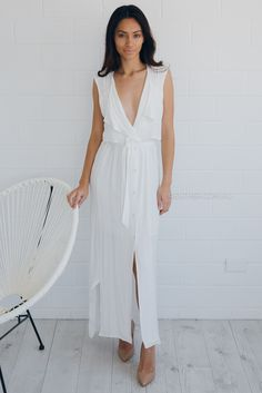 trudy dress - ivory