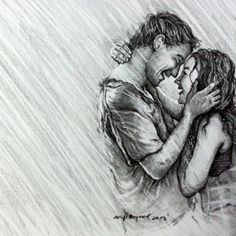 couple, pencil, byme, drawing, art, sketch