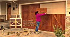 1.  This board will guide you through the installation process for your new GarageSkins real wood garage door overlay system.  Visit www.garageskins.com to see complete information about this revolutionary new way to completely transform your home in under an hour and for less than $1,000.00!