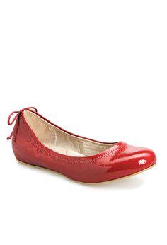 Plus Size Patty Back Tie Ballet Flat   Plus Size View All Shoes   Avenue