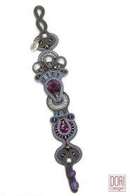 Rhapsody unique pearl and crystal bracelet by Dori Csengeri