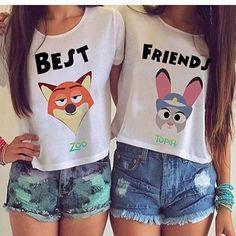 Moda para mejores amigas <3