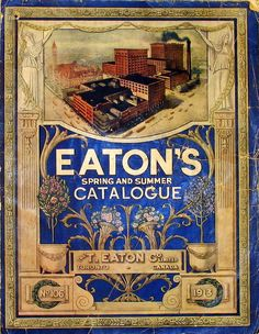 Toronto Then and Now: # 22 ~ The Eaton Family Legacy, Then and Now Canadian Things, I Am Canadian, Canadian History, Canadian Beer, Vintage Advertisements, Vintage Ads, Vintage Posters, Vintage Stuff, Vintage Comics