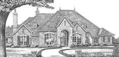 HousePlans.com 310-335 4B 3.5BT 3garage 1level