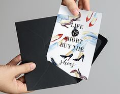 """Check out new work on my @Behance portfolio: """"Design postcard for the shop """"Stylish"""""""" http://on.be.net/1k7YHOe"""