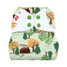 Flip+Diaper+Cover+-+Snap+-+Big+Woods