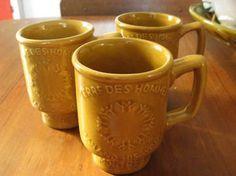 Terres de Hommes Expo67 Mugs (Beauceware) - 1976