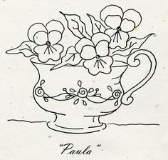 "Tea Party ""Paula"" Pattern"