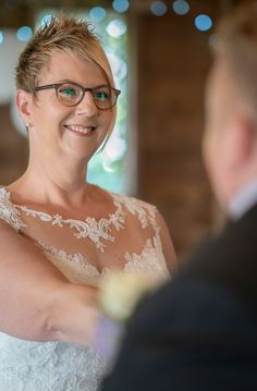 Rustic ceremony at the CowShed, Millbrook, Cornwall