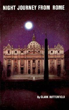 Night Journey From Rome by Clark Butterfield http://www.amazon.com/dp/0937958115/ref=cm_sw_r_pi_dp_wyMxub1NQM7W2