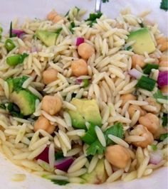 Healthy Fit Goddess: Recipe: Vegetarian Orzo Salad