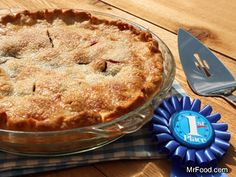 Tapioca pearls are the secret ingredient that make this blueberry pie recipe a winning dessert! It is YUMMY!