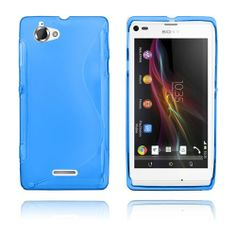 S-Line (Blå) Sony Xperia L Deksel