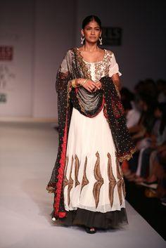 Bridal Lehenga by Joy Mitra  #wifw #ss14 #fdci #infashion #fashion #trends #fashionweek #joymitra #indianfashion #loveit #weheartit #bridal