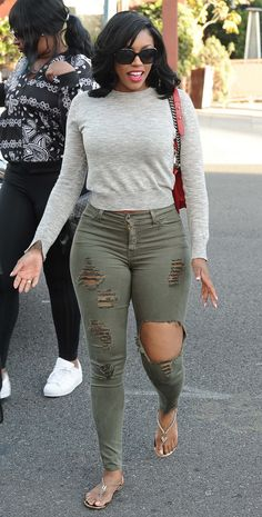 Porsha Williams went for cute, casual and fab while out in Beverly Hills.