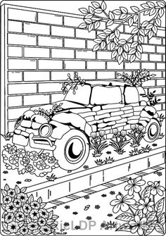 20 Coloring Pages For Grownups Car Shaped Colouringpage