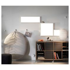 "FLOALT LED light panel, dimmable white spectrum, 24x24"" - IKEA"